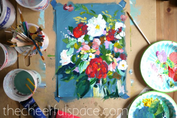 DIY-Floral-Painting-10