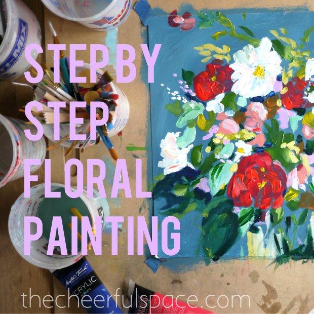DIY-Floral-Painting-12