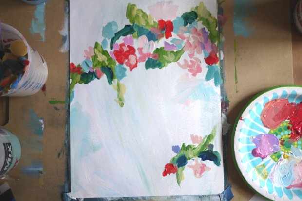 DIY-Abstract-Floral-Painting-05